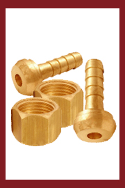 Brass Female Hose Tails With Swivel Nut - 60° Coned Seat